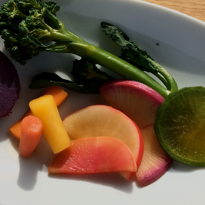 カラフルな野菜が自慢です